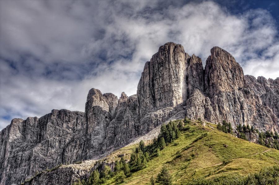 Klettersteig Pisciadu : On the mountains bz pisciadù klettersteig